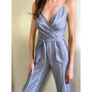 Vintage jumpsuit with belt